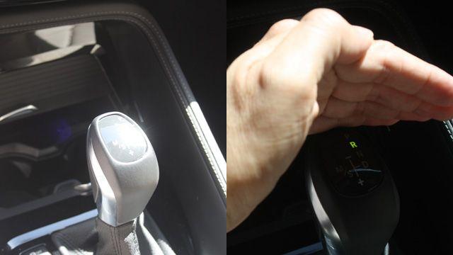 Όταν οι ακτίνες του ήλιου πέφτουν μέσα στο αυτοκίνητο δεν φαίνεται η φωτεινή ένδειξη στο αυτόματο κιβώτιο.