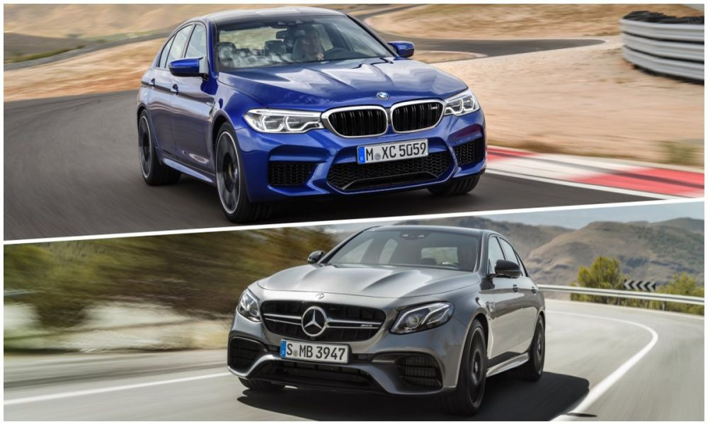 BMW M5 vs Mercedes-AMG E63 S (vid) 5a437164e26