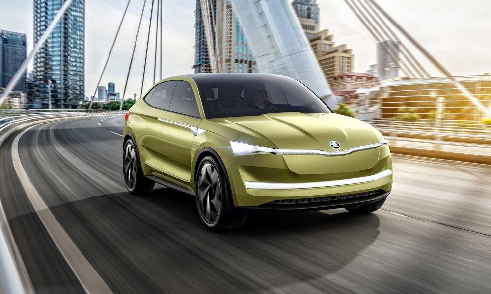 Στην παραγωγή το ηλεκτρικό SUV-Coupe της Skoda