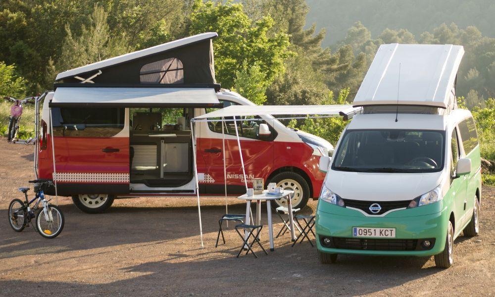 Τα νέα Camper van της Nissan, NV300 & e-NV200   NewsAuto.gr