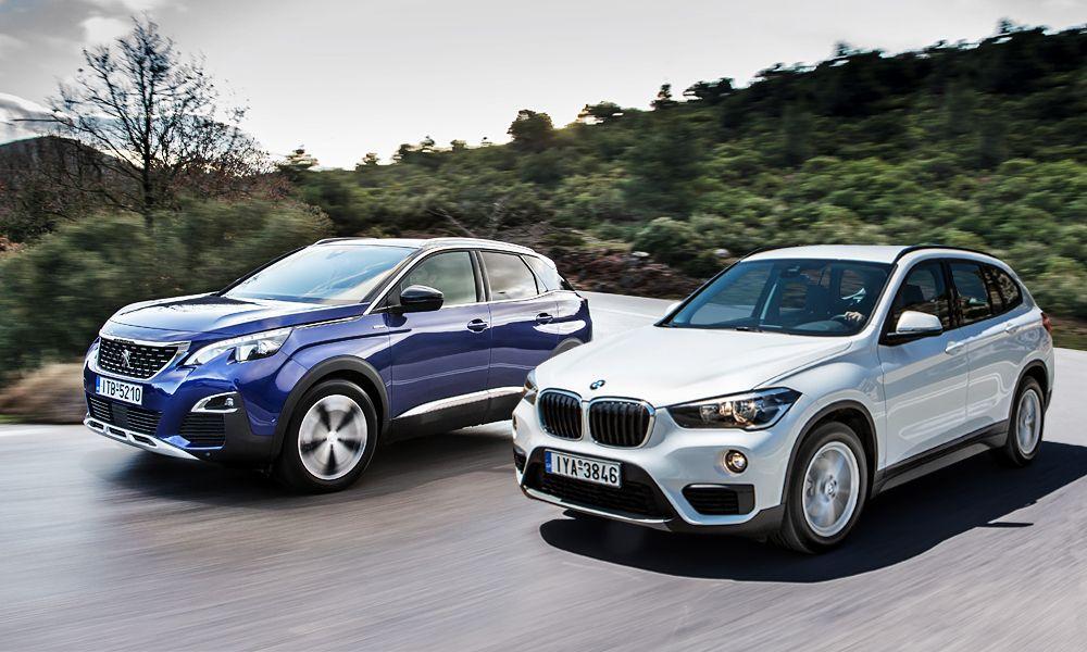 Συγκρίνουμε: BMW X1 vs Peugeot 3008