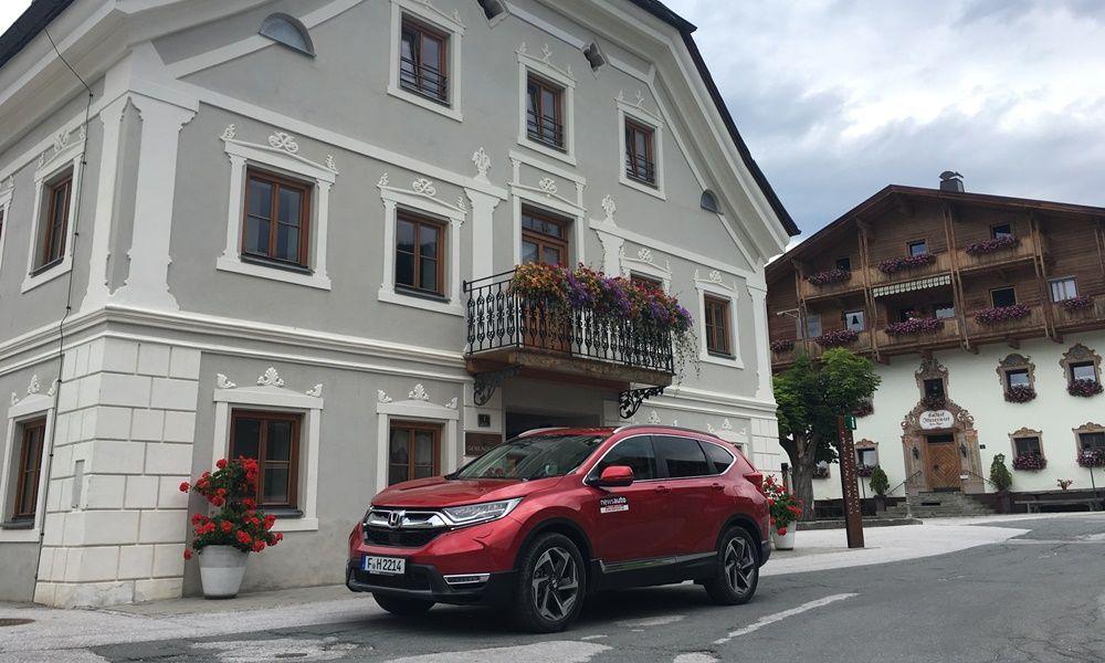 Οδηγούμε στην Αυστρία το νέο Honda CR-V 1.5 i-DTEC Turbo