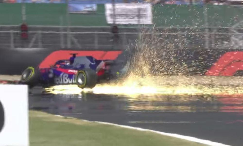 Video: To τρομακτικό ατύχημα του Hartley