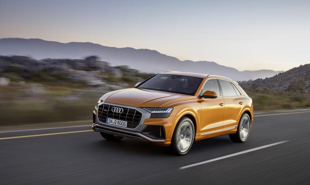 Η σπορ οδηγική απόλαυση που προσφέρει το Audi Q8