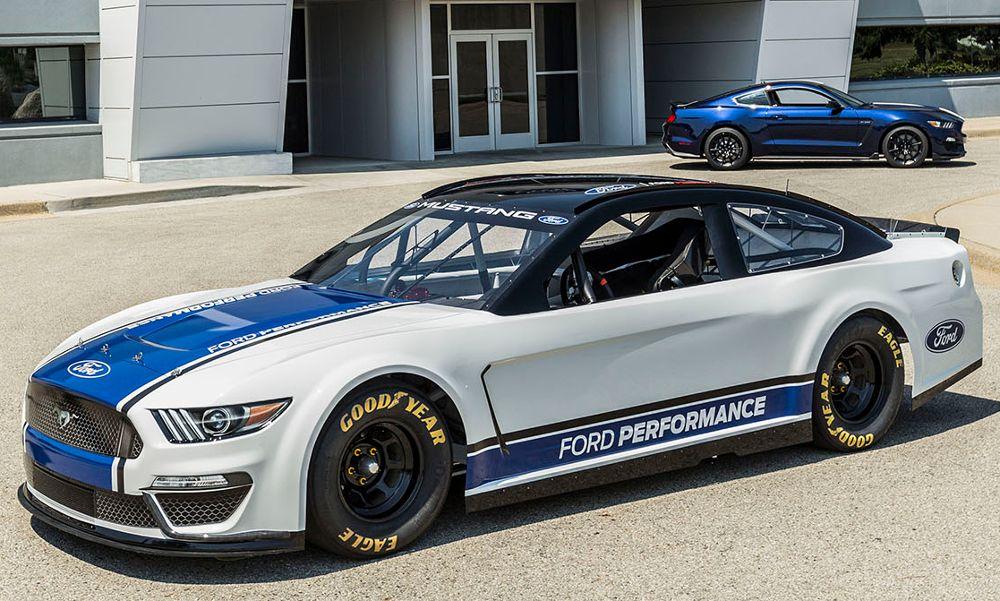 Η Ford Mustang στους αγώνες NASCAR Cup Series