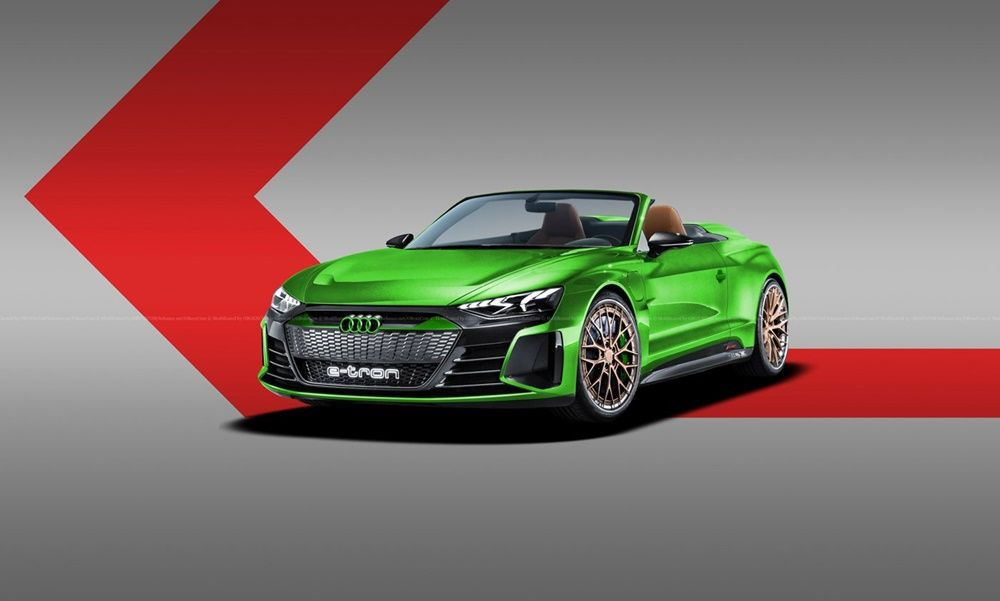 Σε Spyder, Coupe και wagon το Audi e-tron GT