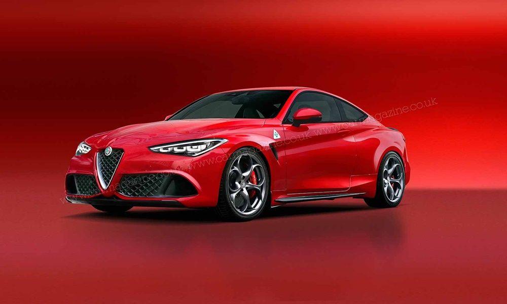 Η Alfa Romeo GTV πλησιάζει
