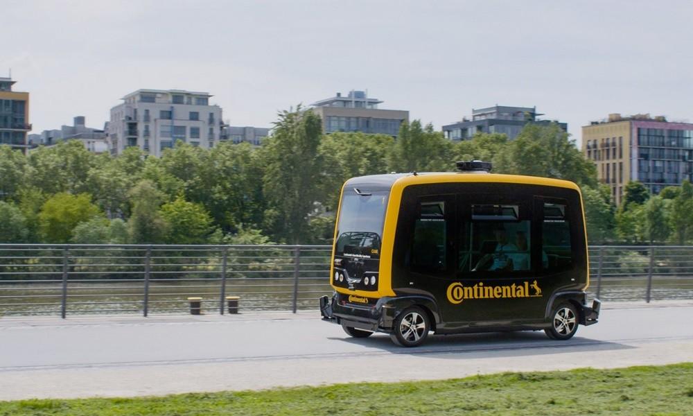Continental CUbE: Ένας μεταφορέας-ρομπότ