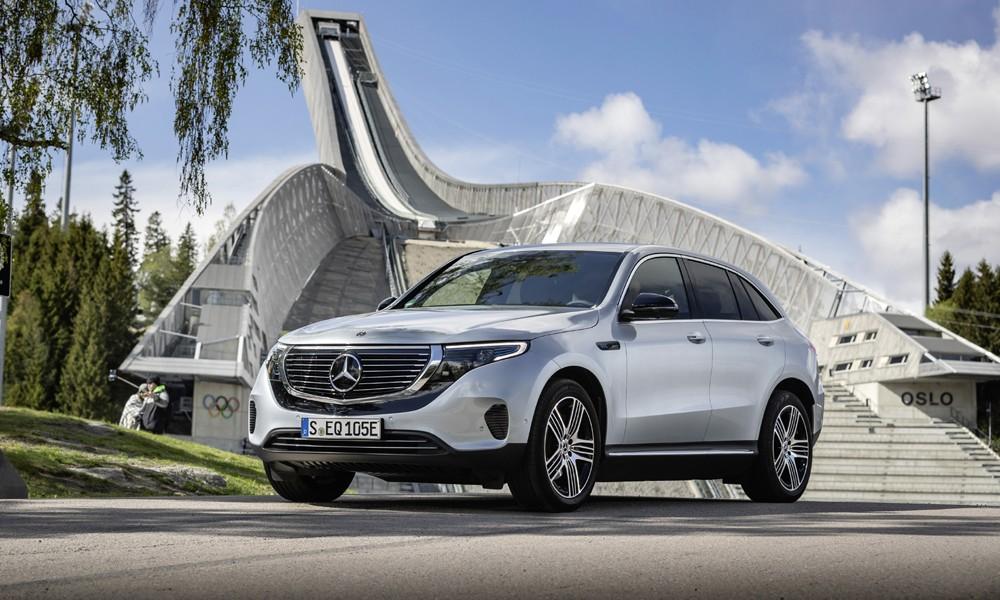Διαθέσιμο και στην Ελλάδα το πρώτο ηλεκτρικό SUV της Mercedes - Πόσο κοστίζει; (ΦΩΤΟ)