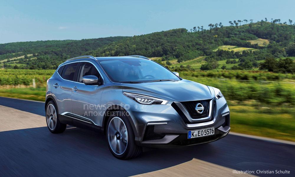 Η Nissan ετοιμάζει την νέα γενιά του επιτυχημένου Qashqai (ΦΩΤΟ)