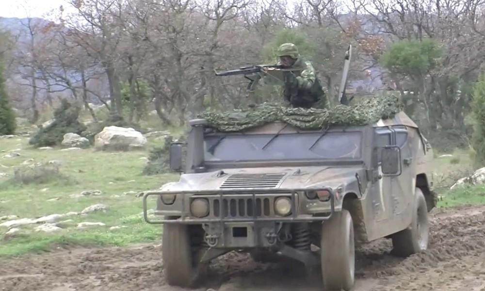 Περιπολία στον Έβρο με Ελληνικό Hummer (+video)