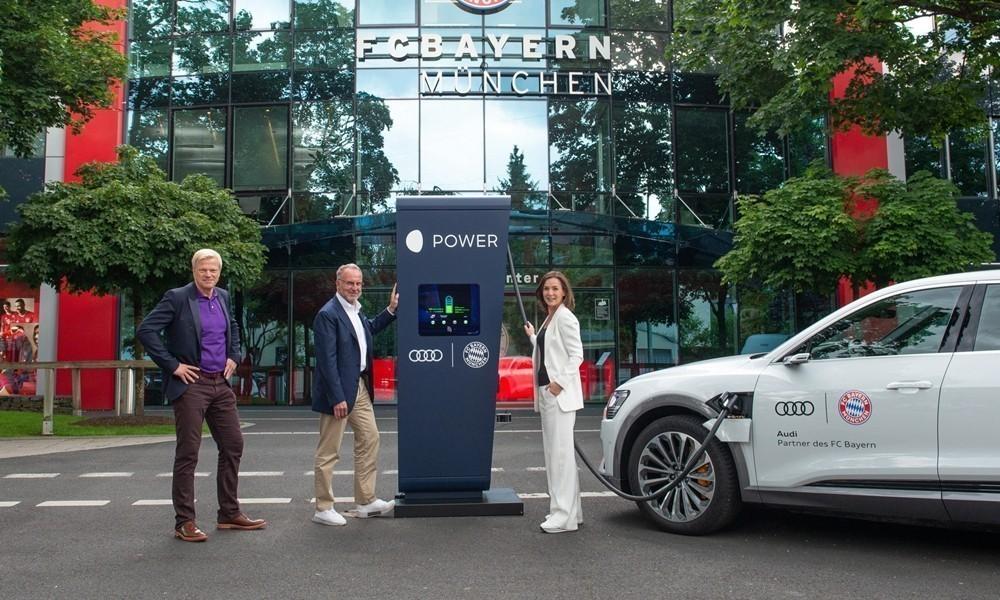 Audi etron fc bayern