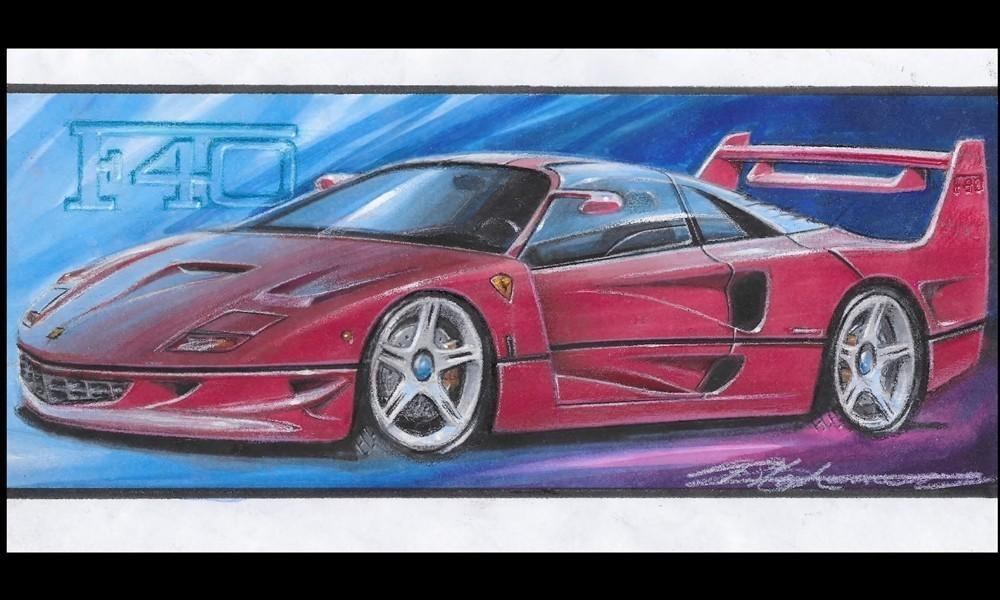 Ferrari-F40 stephenson