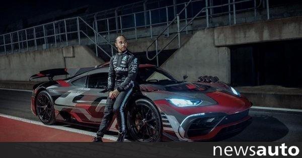 Αυτό είναι το νέο αυτοκίνητο του πρωταθλητή Lewis Hamilton (βίντεο)