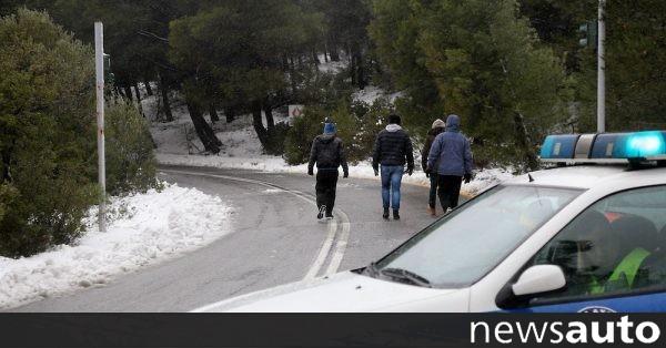 Πήγαν για χιόνι και έπεσαν στα μπλοκ…
