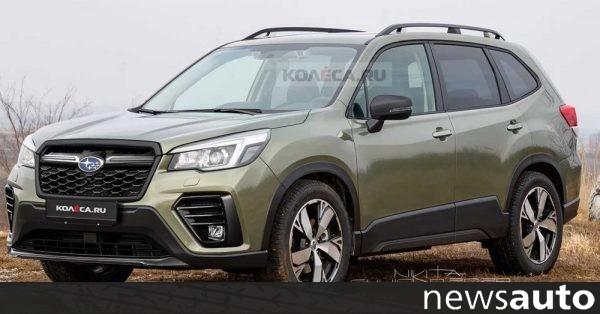 Ενημέρωση για το Subaru Forester