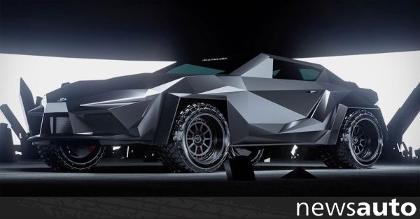 Ένα Toyota Supra για τον Batman