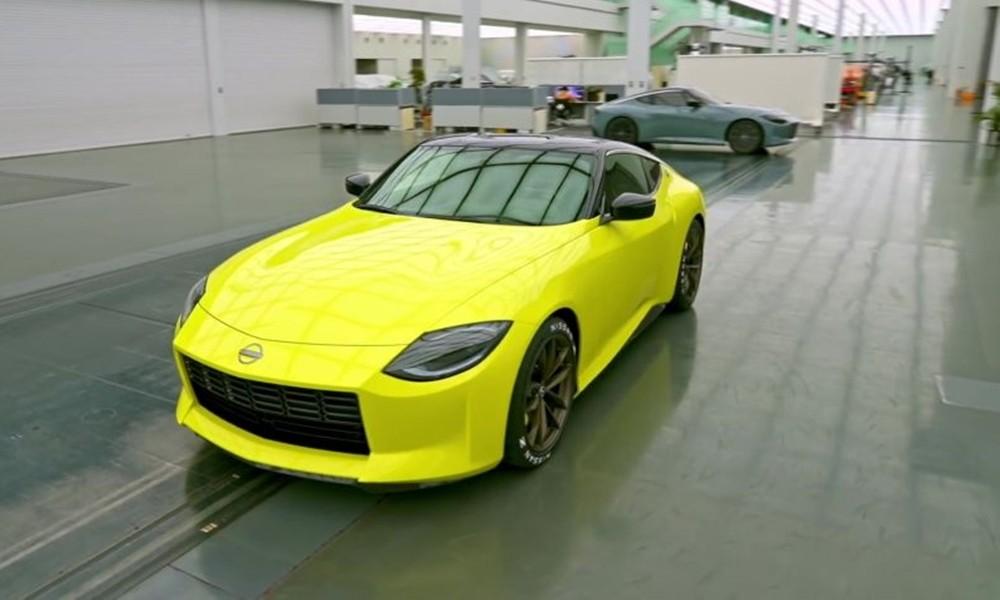 Nissan 400Z concept teaser