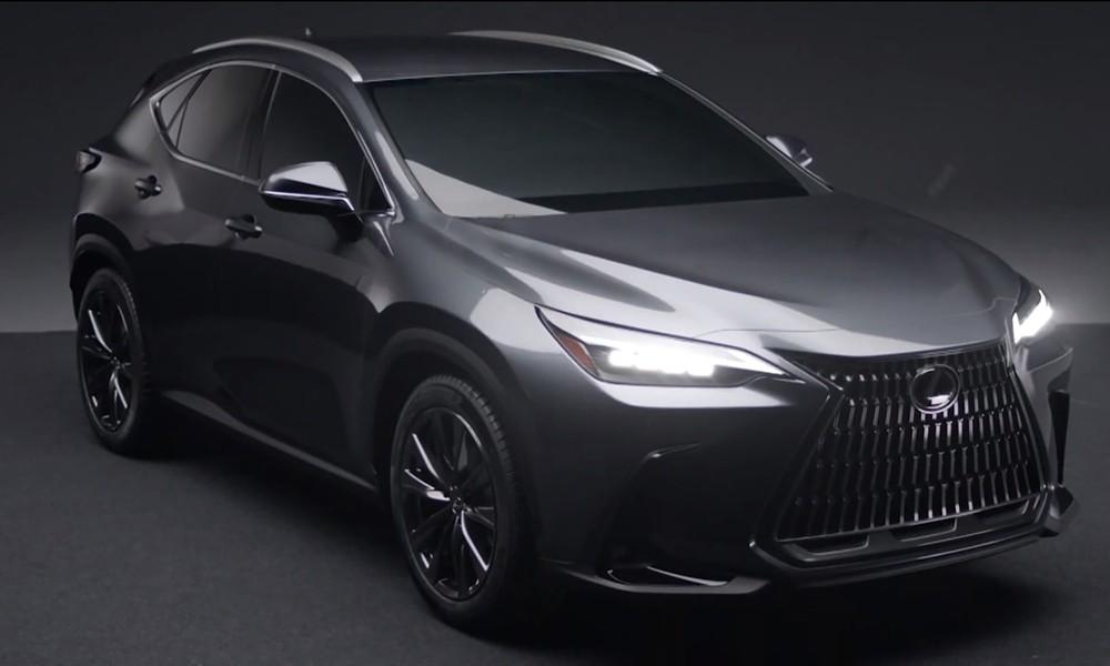 Lexus NX leaked