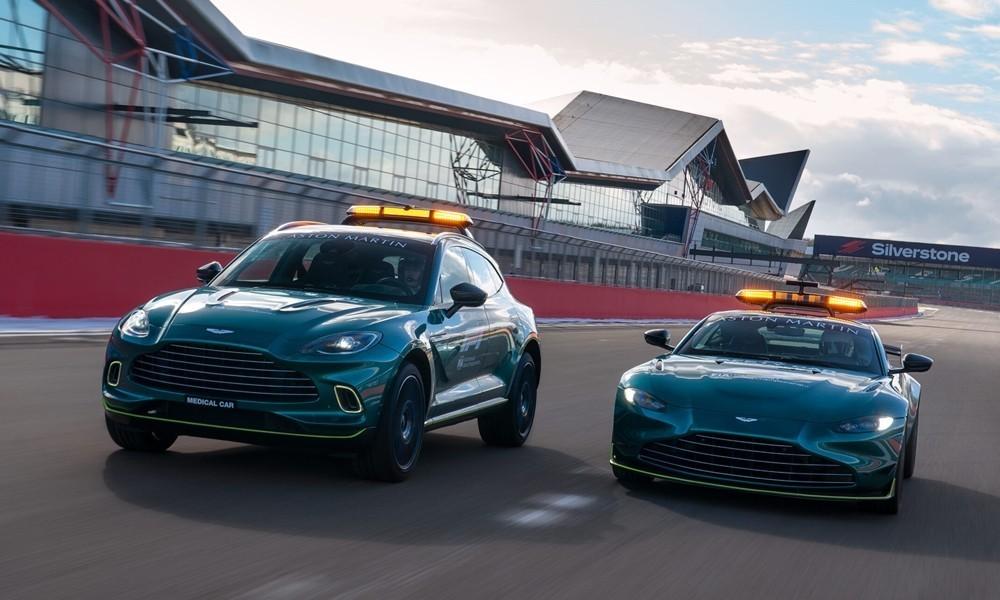 Aston Martin electric duo