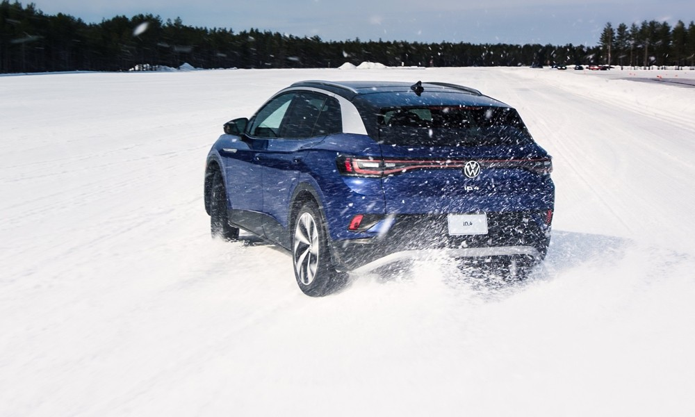 vw id4 golf r winter