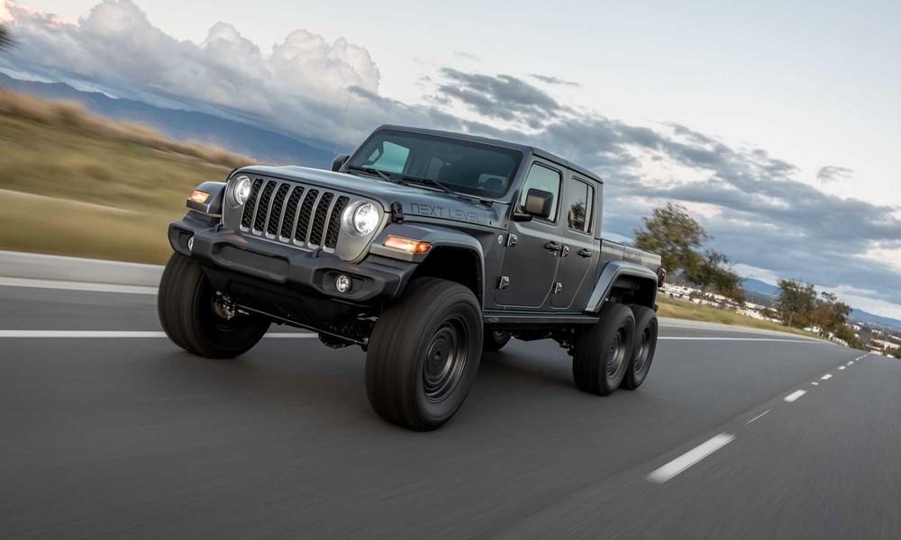 jeep gladiator next level 6x6