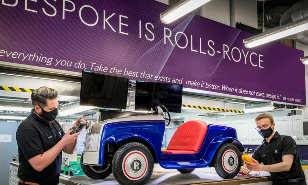 smallest rolls royce car