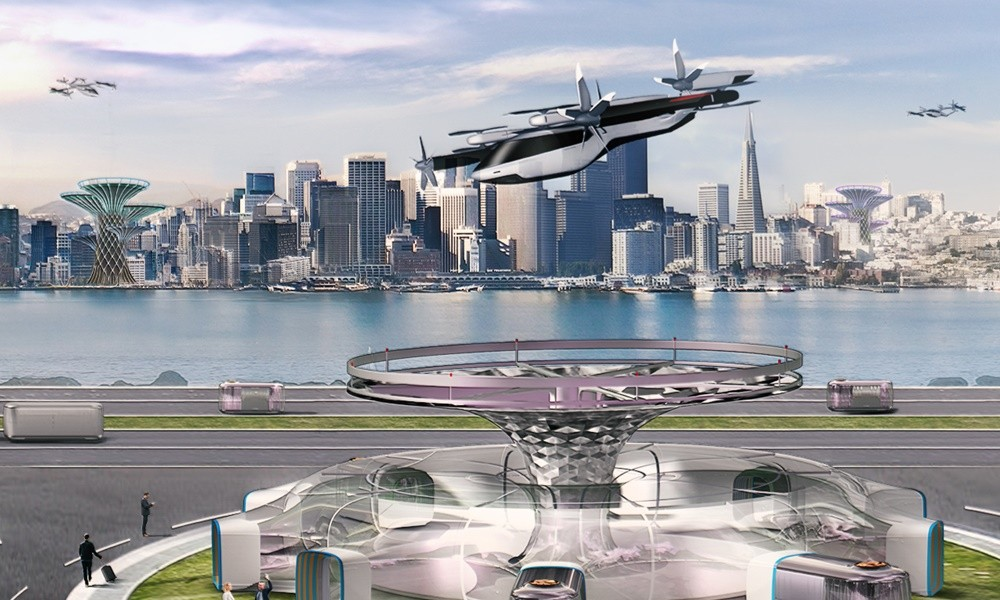 Hyundai flying car