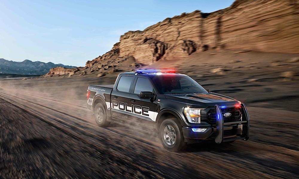 police ford f-150 responder