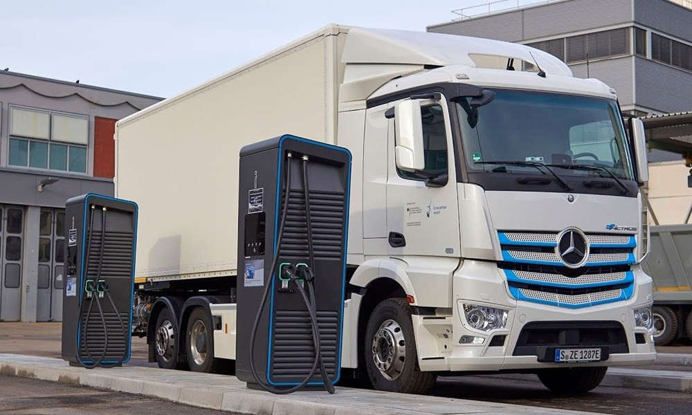 electric truck chargers