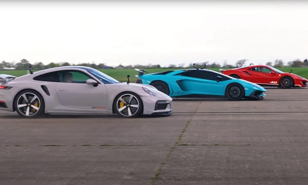 Lamborghini vs Ferrari vs Porsche