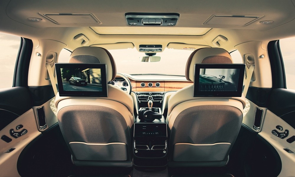 Bentley Rear Entertainment System